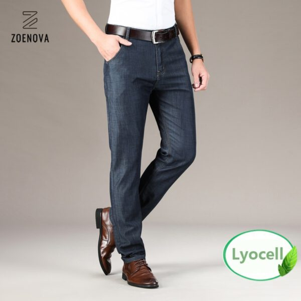 Business Casual Jeans Straight Pants