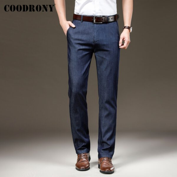 Business Casual Pants Straight Trouser