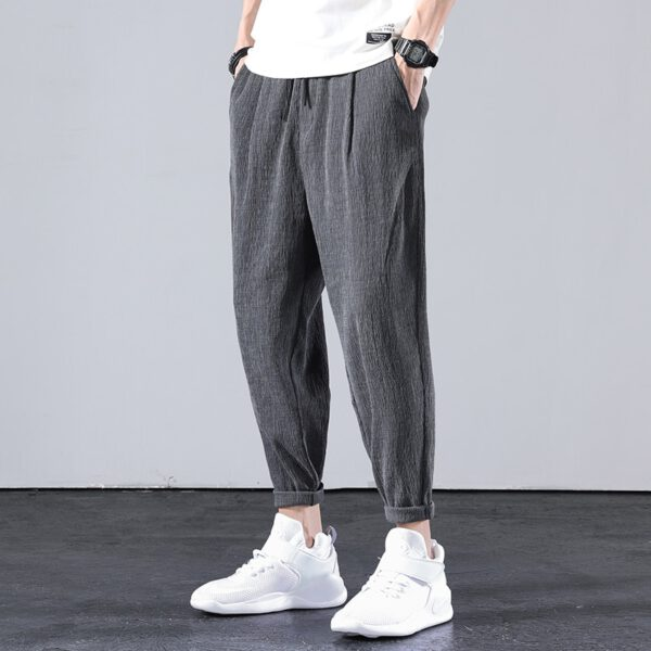 Cropped Harem Pants Casual Trousers