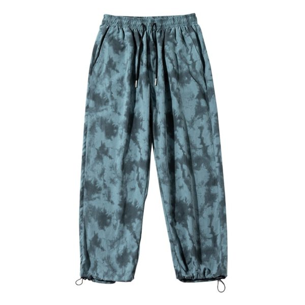 Graphic Printed Pants Loose Trousers