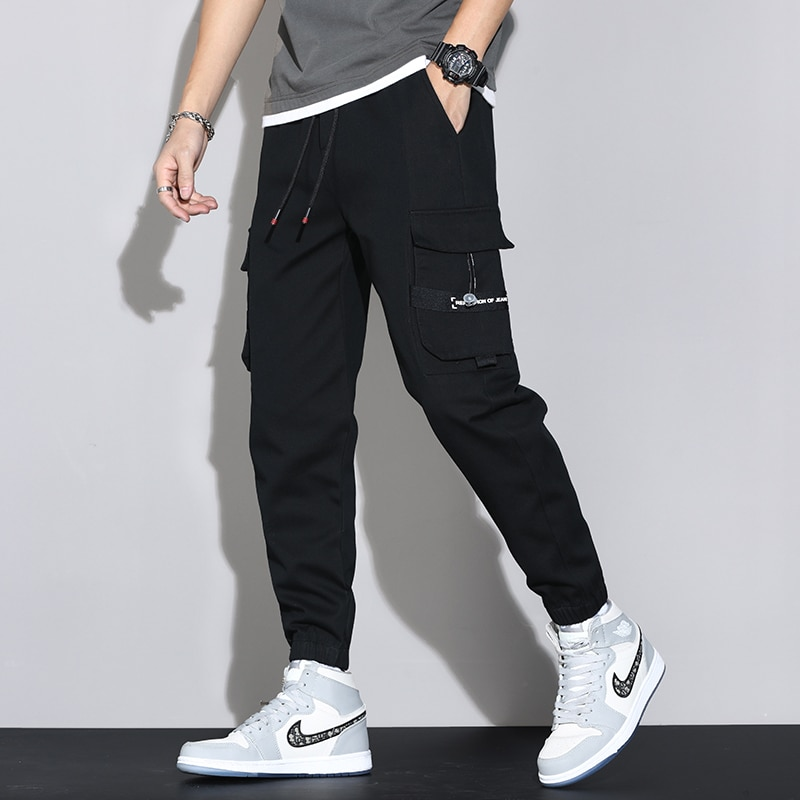 Military Cargo Pants Baggy Trousers