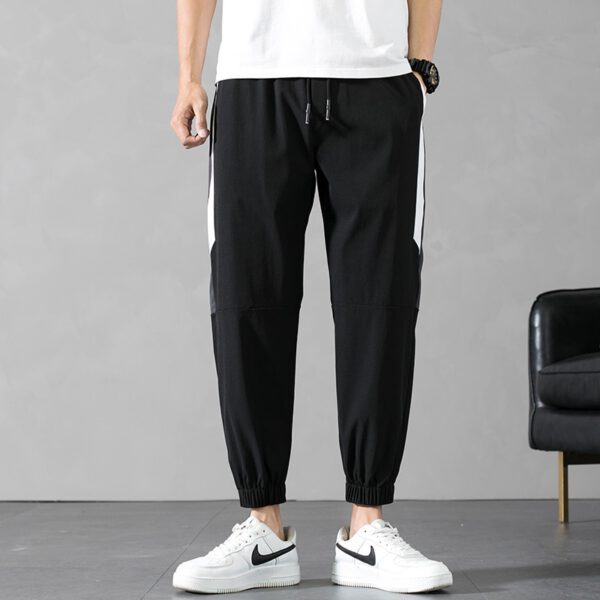 Muscle Fitness Casual Stripe Pants