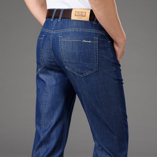 Summer Thin Jeans Stretch Pants