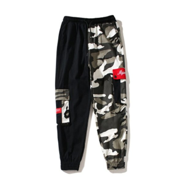 Camo Cargo Pant Baggy Trousers