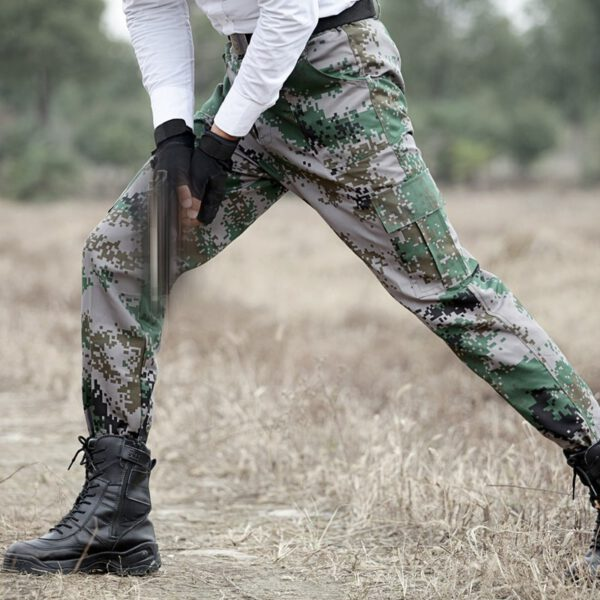 Camouflage Cargo Pants Work Trousers