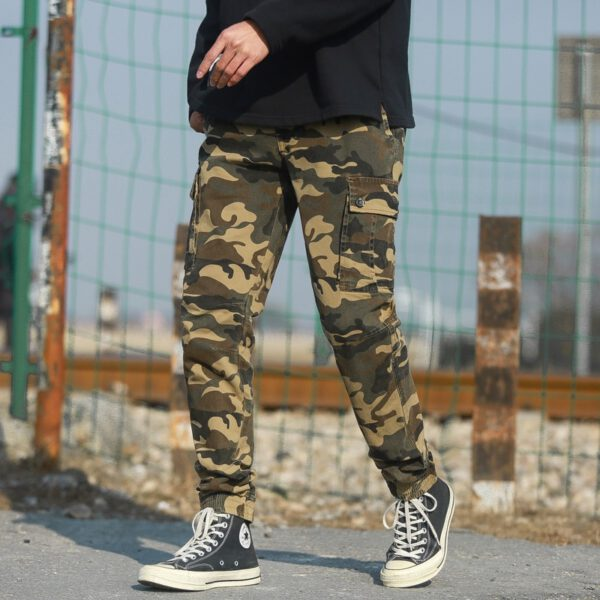 Military Cargo Pants Camouflage Trousers