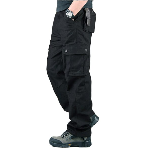 Spring Cargo Pants Military Trousers