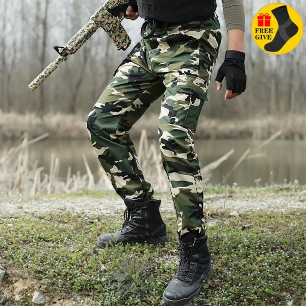 Tactical Pants Military Camouflage Trousers